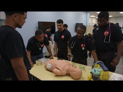 Training young men to change their lives by saving others