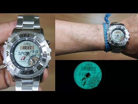 85242ca6abbe CASIO OUTGEAR AMW-704D-7AV HUNTING GEAR - UNBOXING - YouTube