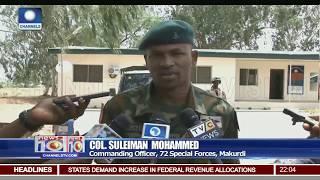 Benue Killings: Army Parades 3 Suspected Herdsmen After Gun Battle