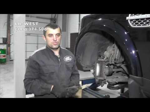 Замена тормозных колодок заднего тормозного механизма на