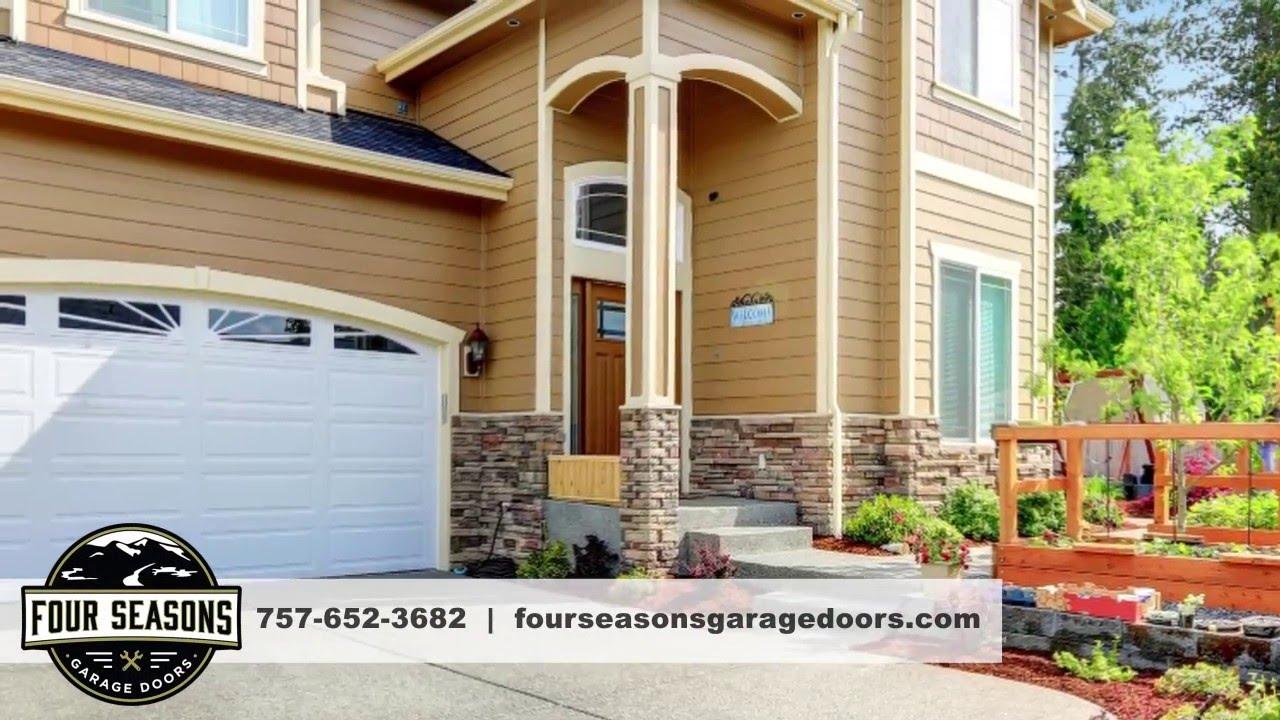 Garage Doors in Virginia Beach Virginia & Garage Doors in Virginia Beach Virginia - YouTube