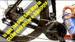 Don't clean your electronic shifting or E-bike bike until you watch this!