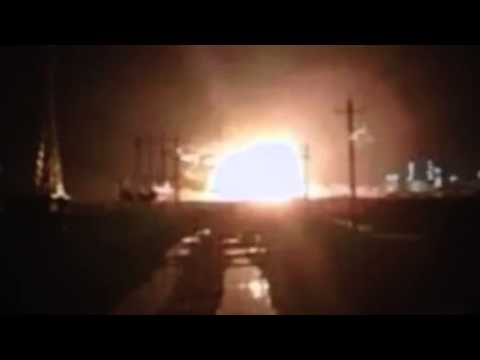 Breaking China Again Explosion Chemical