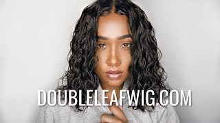 WET LOOK HAIR IN MINUTES | NO LEAVE OUT | Doubleleafwig.com