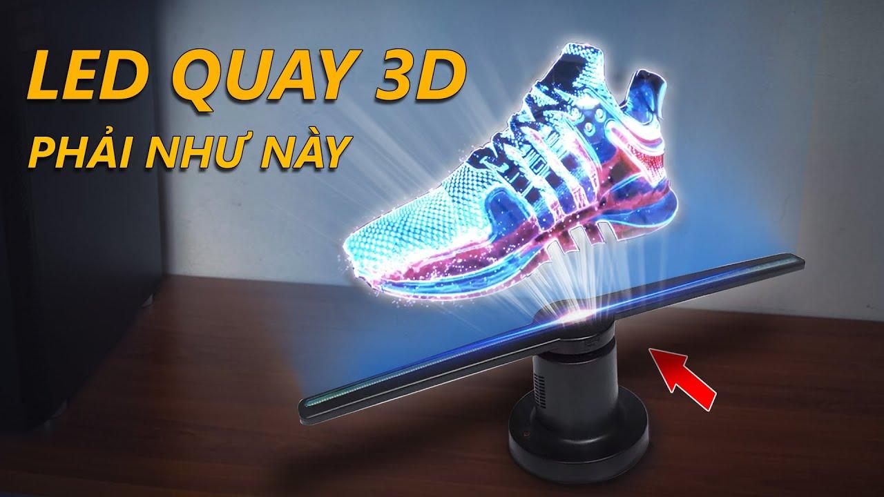 Review LED QUAY 3D HOT nhất thời điểm hiện tại của China