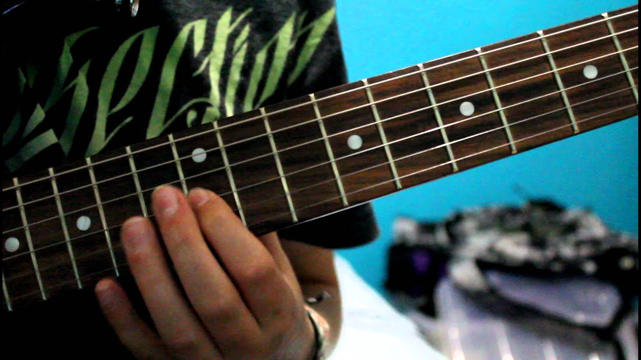 how to play nightmare by avenged sevenfold on guitar