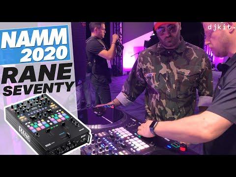 First Look At The Rane SEVENTY Battle Mixer @ NAMM 2020 - Djkit.tv