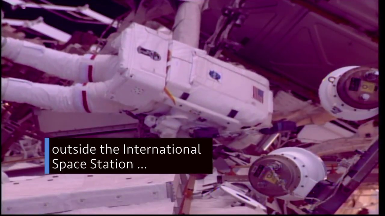 Astronauts at Work Outside the Space Station on This Week @NASA – March 30, 2018