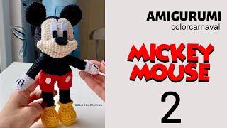Amigurumi Örgü Mickey Mouse Yapılısı -  2