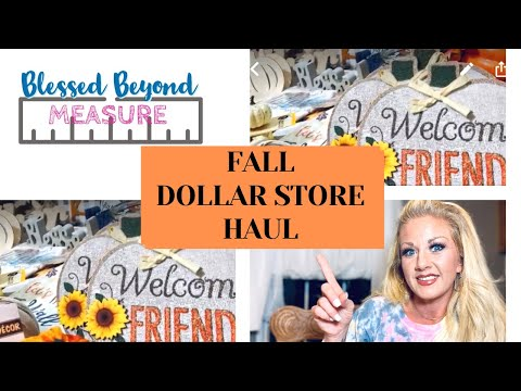 Dollar Tree/dollar General Fall Haul ,Check Out My Fall Stash
