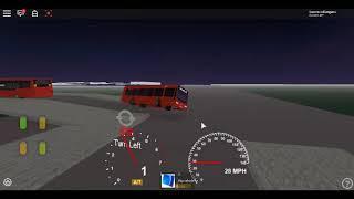 Roblox London Hackney & Limehouse bus Simulator ELC Esteem Dart GAL Route 108 *Major Diversion*