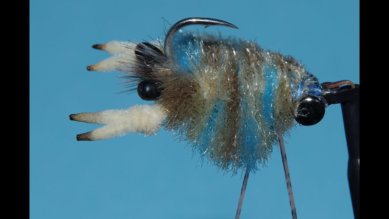 How to tie crab flies for saltwater fly fishing with for Saltwater fly fishing
