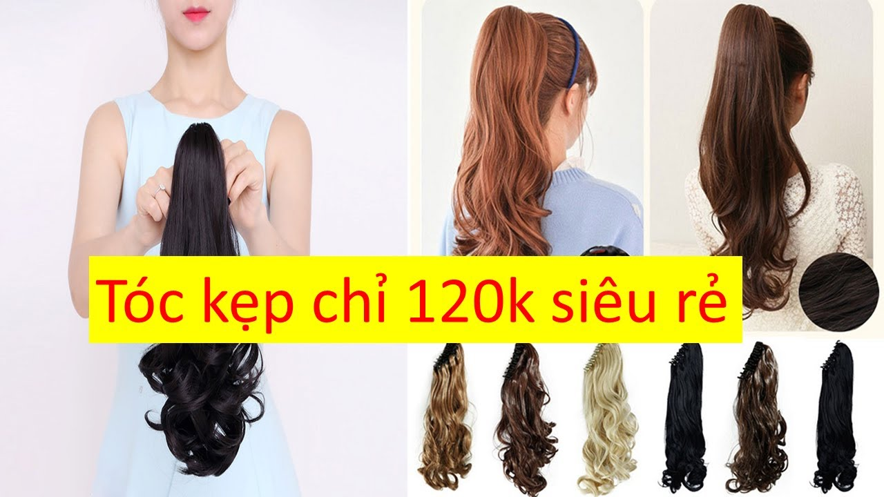 Mua tóc giả cột tóc kẹp ơ đấu rẻ chỉ 100k | Tóm tắt các tài liệu liên quan đến mua tóc giả đẹp ở hà nội chi tiết