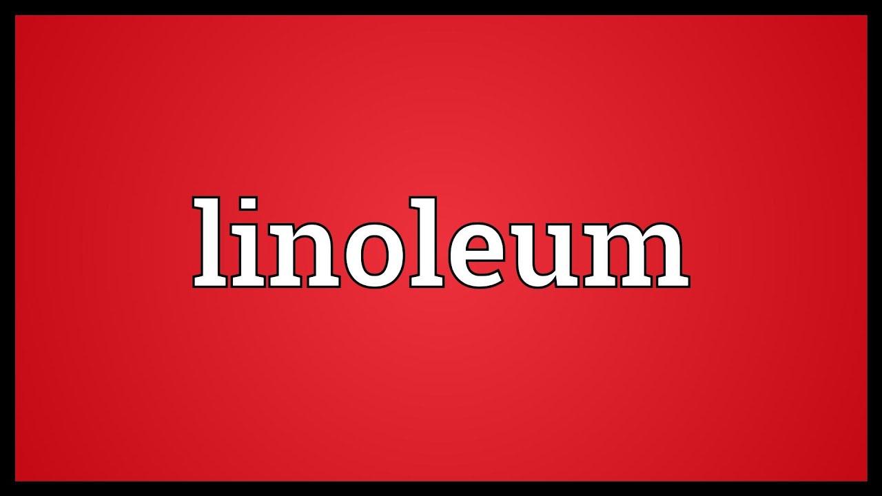 linoleum meaning youtube. Black Bedroom Furniture Sets. Home Design Ideas