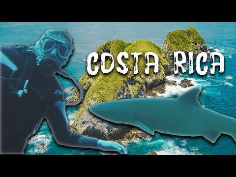 SCUBA DIVE COSTA RICA [ 4K + DRONE ]