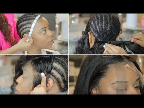CLIENT SERIES: How To DO A Lace Front Sew-in  | EXTREMELY DETAILED!!