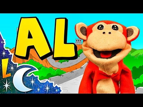 Sílabas al el il ol ul - El Mono Sílabo - Videos Infantiles - Educación para Niños #