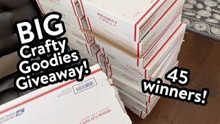 Kristina's BIG Crafty Goodies Giveaway! (Enter by Friday 6/19/20)