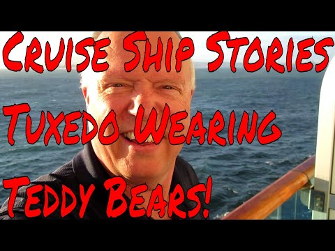 Cruise Ship Passenger Stories Lost Wigs, Dentures and Tuxedo Wearing Teddy Bears for Formal Night