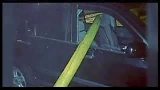 Illegally Parked Car Owner is Not Happy Fire Fighters Smashed Her Car Window and Run Hose Through it