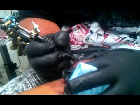 c1e2223bc Goon Money C.E.O gets sleeve tattoo - YouTube