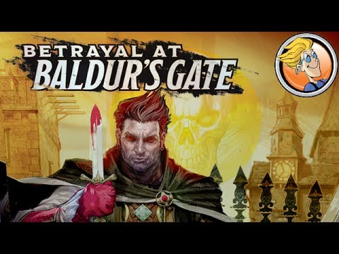 Betrayal at Baldur's Gate — game preview at Origins Game Fair 2017