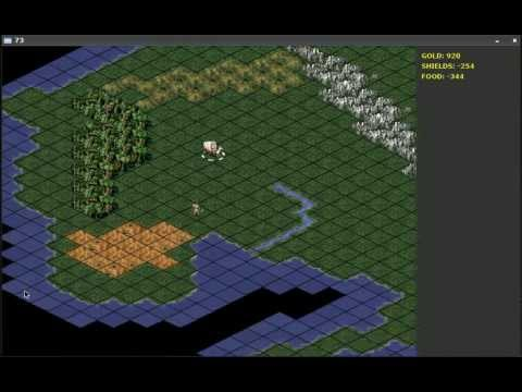 Isometric Civilization style game by Alan Prideaux