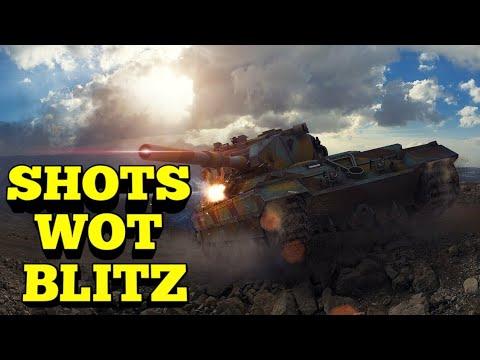 Выстрелы с Fv215b 183/ shоts from fv215 183🇦🇺 WOT Blitz