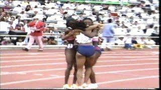 1992 Olympics ~ Women's 4 x 100 m