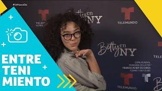 Finalizan grabaciones de Betty en NY con gran sorpresa   Un Nuevo Día   Telemundo