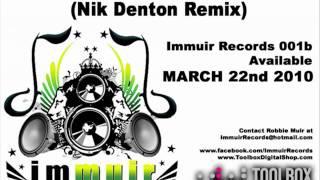 Robbie Muir - Ninety Four Percent (Nik Denton Remix)