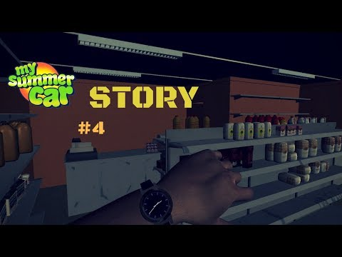 Robbery Teimo Shop, Repaired And Explosive Car - My Summer Car Story #4