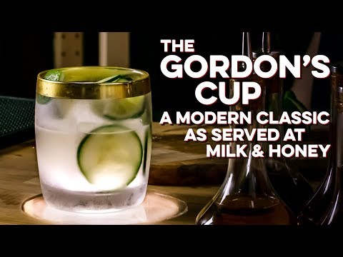 How to Drink: Gordon's Cup