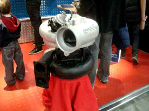 A turbo to a car that maybe makes around 150-180hp vs a turbo that is to some big boats