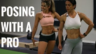 Posing with a Pro - First Time Bikini Competitor Advice | Mind Pump