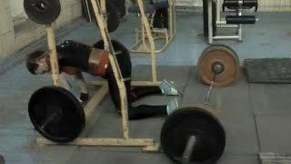 Бондаренко Анастасия - присед 100 кг на 17 повторений