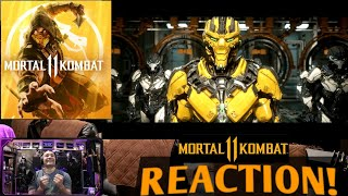 Mortal Kombat 11 : Official Launch Trailer! : REACTION!