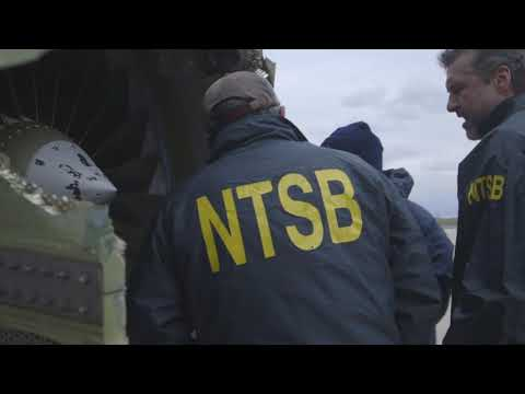 NTSB B-Roll Philadelphia, PA Southwest Flight 1380
