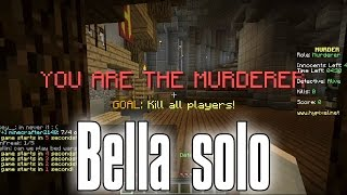 Dansk Minecraft - Bella solo - Murder Mysteri minigame (HD)