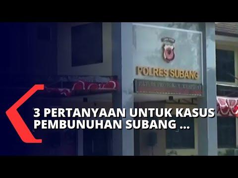 Suami Korban Pembunuhan Subang Beserta Istri Muda Ditanya 3 Pertanyaan