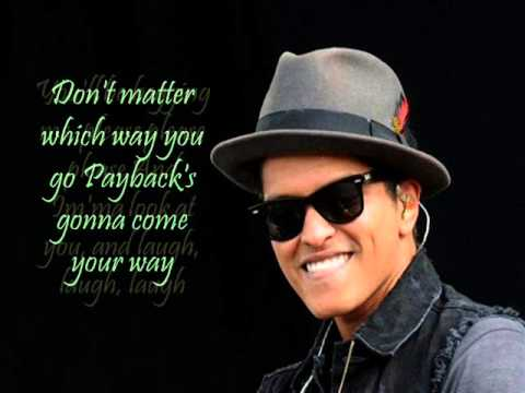 Bruno Mars - Natalie (Lyrics)