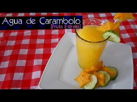 AGUA DE CARAMBOLO [FRUTA ESTRELLA] ~ MariquisTuts ★