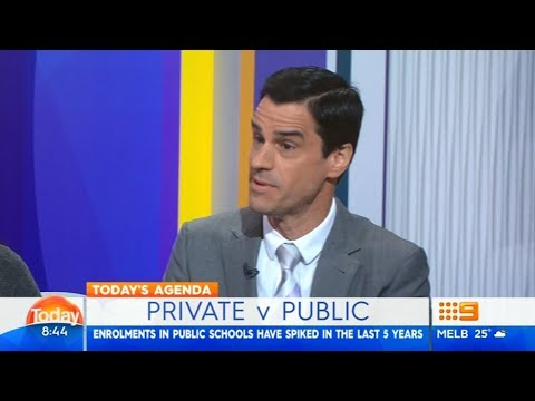 Private Vs Public Schooling | Mark McCrindle On The Today Show