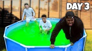 Last To Leave Slime Pool Wins £5,000 - Challenge