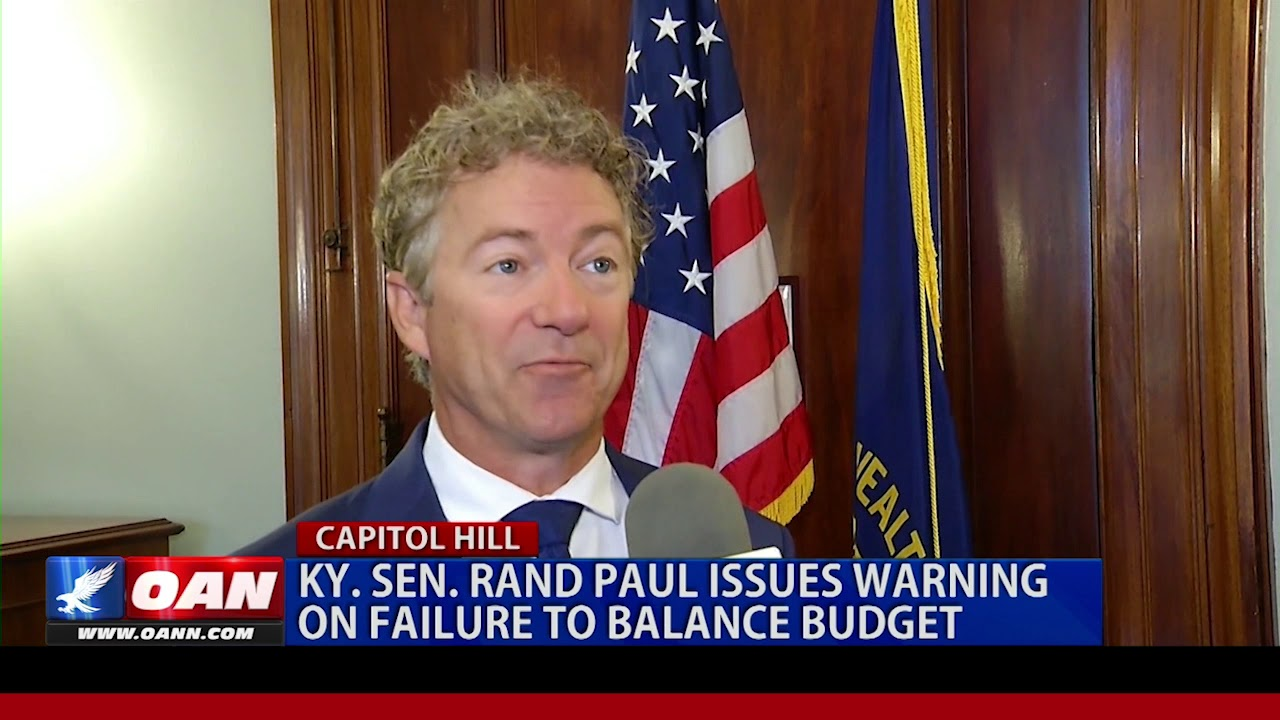 OAN Network - Ky. Sen. Rand Paul issues warning on failure to balance budget