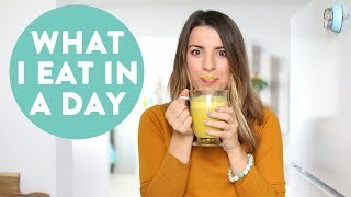 What I Eat in a Day | Easy and Healthy Meal Ideas