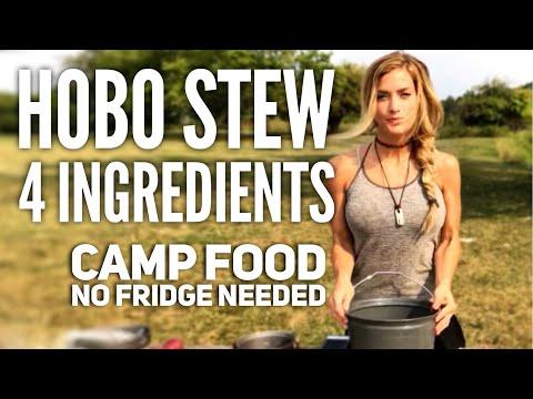 Hobo Stew in 4 Ingredients, Backpacking Food w. Melissa Miller