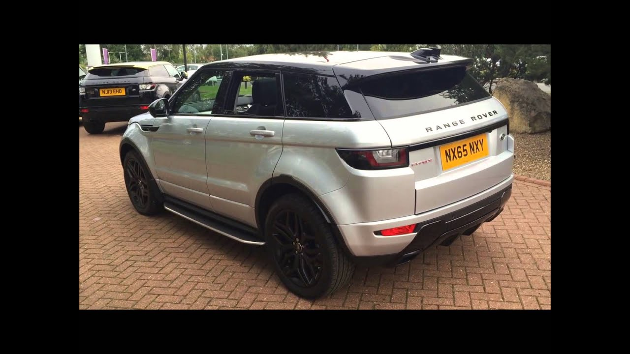 land rover range rover evoque 2016my 5 door td4 hse dynamic lux auto u11088 youtube. Black Bedroom Furniture Sets. Home Design Ideas