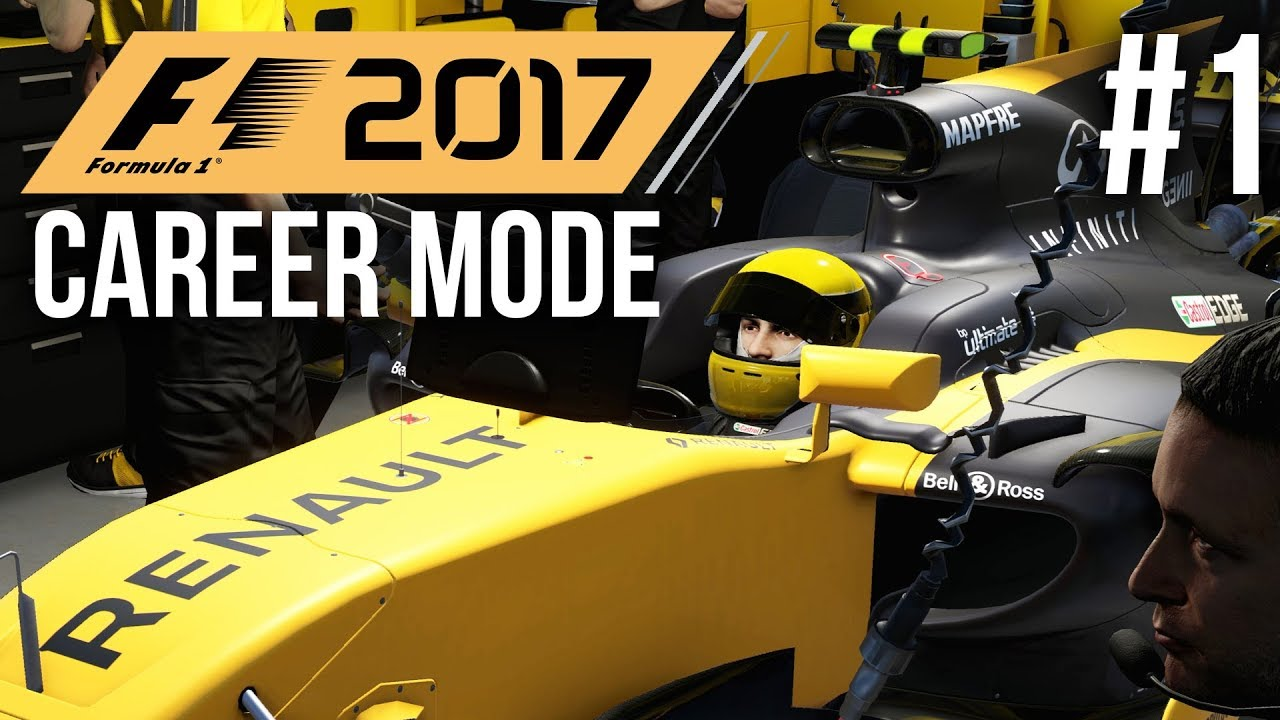 f1 2017 career mode gameplay walkthrough part 1 picking. Black Bedroom Furniture Sets. Home Design Ideas