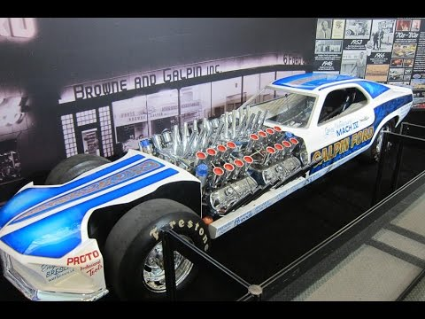 drag engine mustang mach iv mph